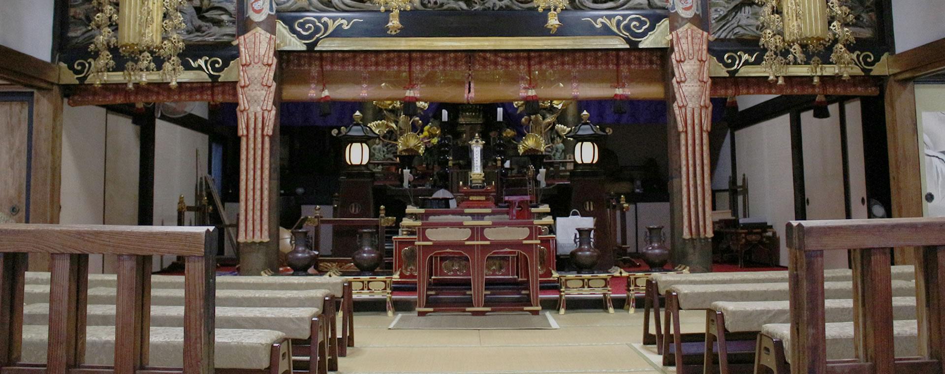 伝説が息づく花の寺 天台宗 船尾山 柳沢寺